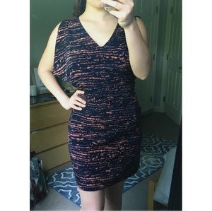 Navy and Coral Dress (NWT)